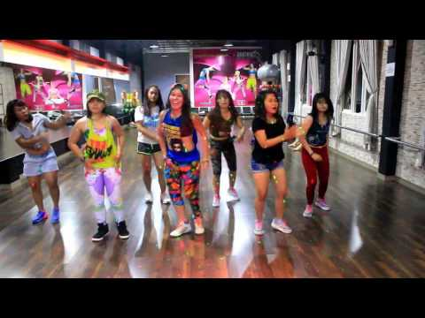 "Zumba K-Pop "" LOTTO BY EXO -Choreo By Chenci At BFS Studio Sangatta-Kaltim-Borneo"