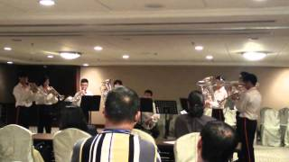 Bgan Jaya School Band(BJSB)Brass Ensemble (Group A)Malaysia Music Art Festival(副本)