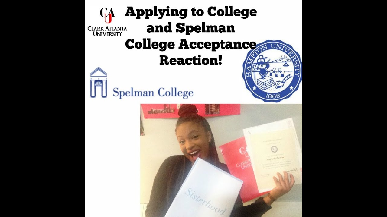 Essay On Blindness Spelman College Acceptance Reaction  Application Process Persuasive Essay Sports also Essay On Communication Skills Spelman College Acceptance Reaction  Application Process  Youtube Privilege Essay