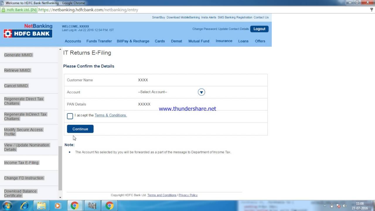 www hdfc com net banking