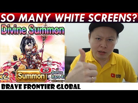 So Many White Screens? 1st Impression & Rare Summons For Luina (Brave Frontier Global)
