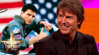 Tom Cruise Reacts to Top Gun 2 Rumours - The Graham Norton Show
