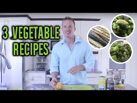 How To Cook Vegetables And Make Them Taste Delicious - Live Lean TV
