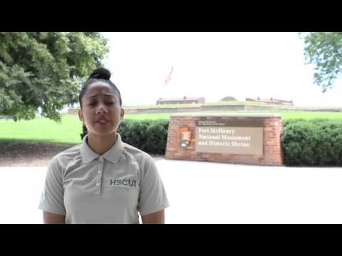 HBCUI 2015: Natalie Rogdriguez at Fort McHenry National Monument and Historic Shrine