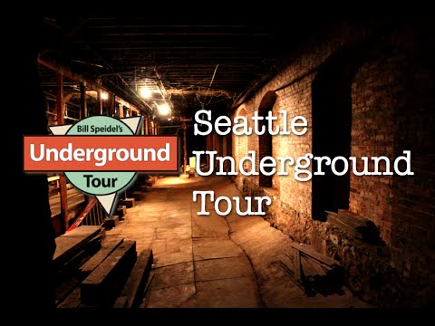 Seattle Underground Tunnels Tour
