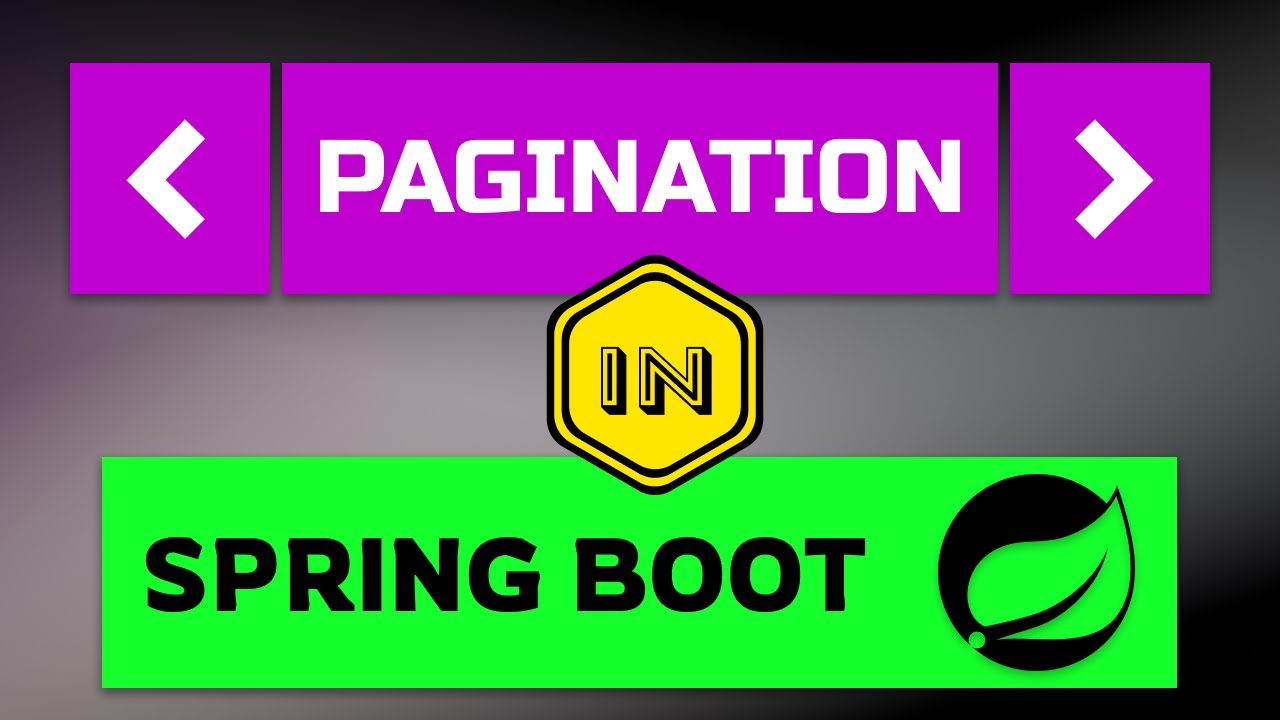Pagination in Spring Boot