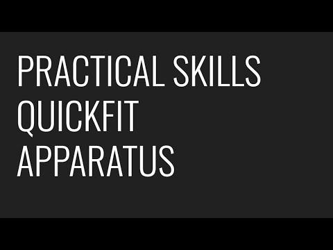 Quickfit Apparatus