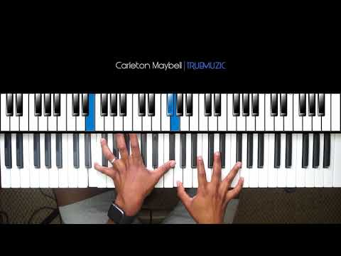 Ella Mai - Trip EASY PIANO TUTORIAL