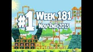 Angry Birds Friends Tournament Level 1 Week 181 Power Up Highscore Walkthrough