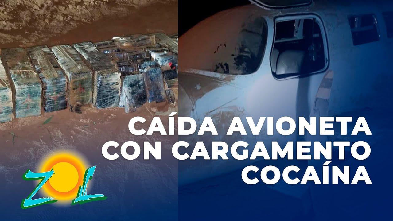 Download Periodista Pedro Heredia de Pedernales reporta la caída de avioneta con cargamento de cocaína