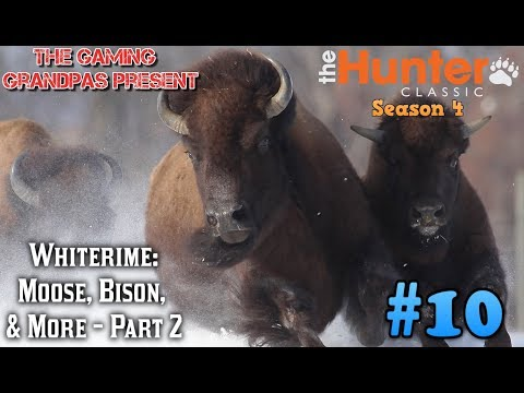 Whiterime: Bison, Moose, & More - Part 2! | The Hunter Classic