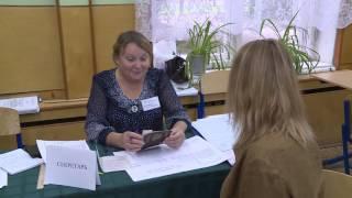 Мария Кожевникова голосует в Вологде