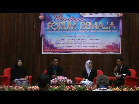 Johan forum remaja & anugerah pengerusi forum terbaik 2016 (SMK Bukit Sawa) - Terengganu