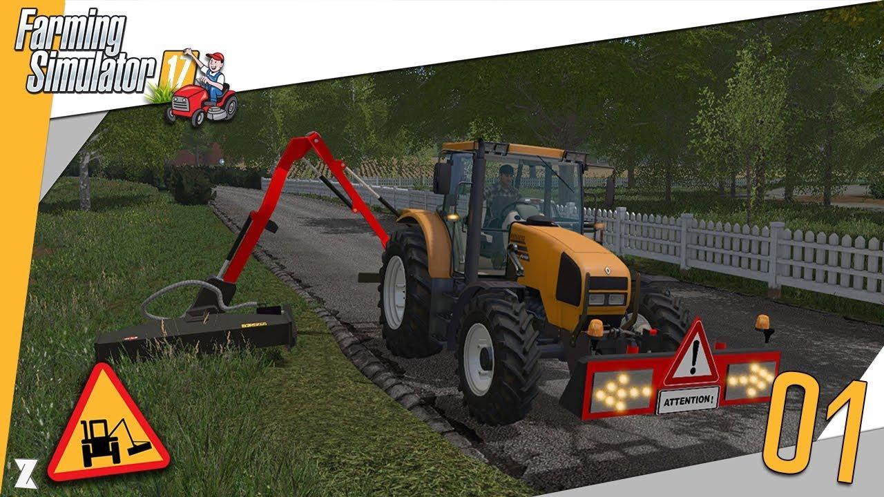 farming simulator 17 entretien communal 1 un bout de moi est de retour youtube. Black Bedroom Furniture Sets. Home Design Ideas