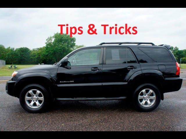 4th Gen Toyota 4Runner Tips & Tricks
