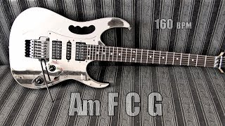 Energy Hard Rock Metal Guitar Backing Track A Minor