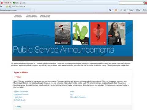 Public Health Service announcement