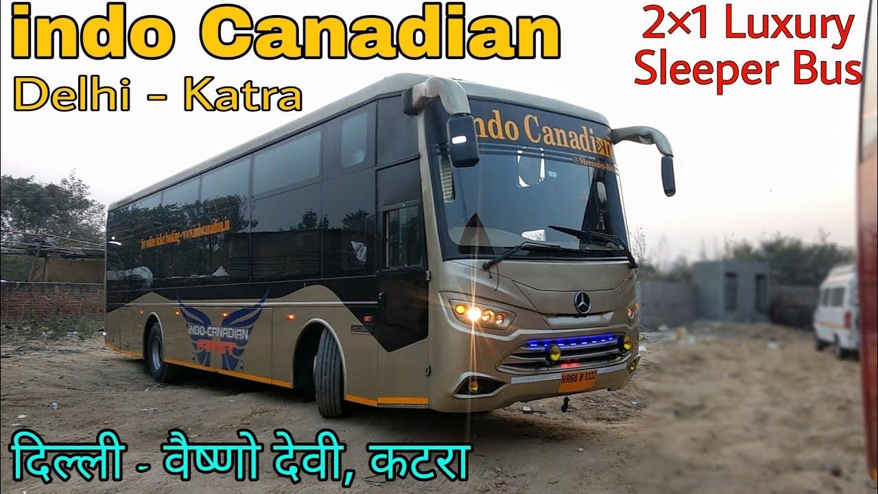 Indo Canadian Luxury 2 1 Sleeper Bus Jcbl Bharat Benz