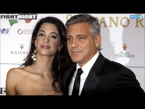 Inside George Clooney And Amal Alamuddin's First Red Carpet Event Together