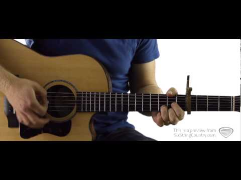 We Are Tonight - Guitar Lesson and Tutorial- Billy Currington
