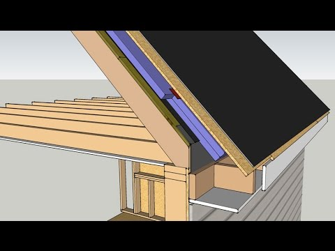 Roof Insulation Retrofit Unvented Roof Youtube