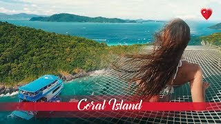 Coral Island (Ko Hey) – Rawai Islands, Phuket. Trip to Coral Island, beaches, snorkelling