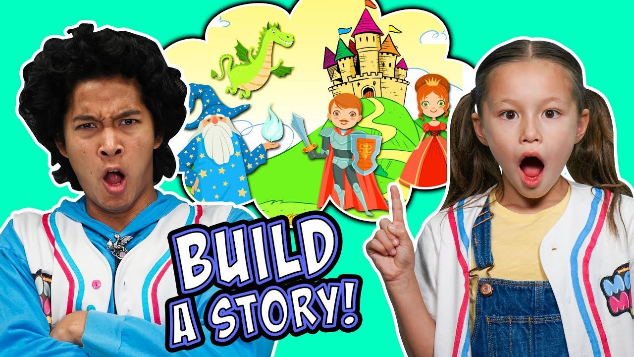 Let's Build a Story! Kids Read Books in MarMar Land!