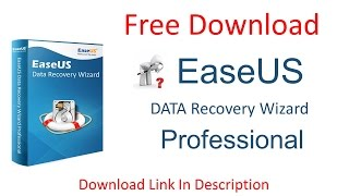 EaseUS Data Recovery Professional | Free Download | Paid Version