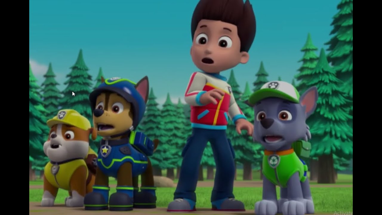 paw patrol pups and the ghost cabin new clip youtube