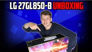 LG LED 27GL850 - QHD, IPS, 2xHDMI, DP, USB price in Dubai