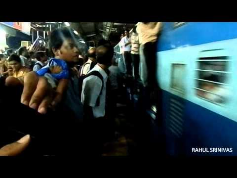 The Most Crowded Train in India! (Motormen's Strike in Mumbai)