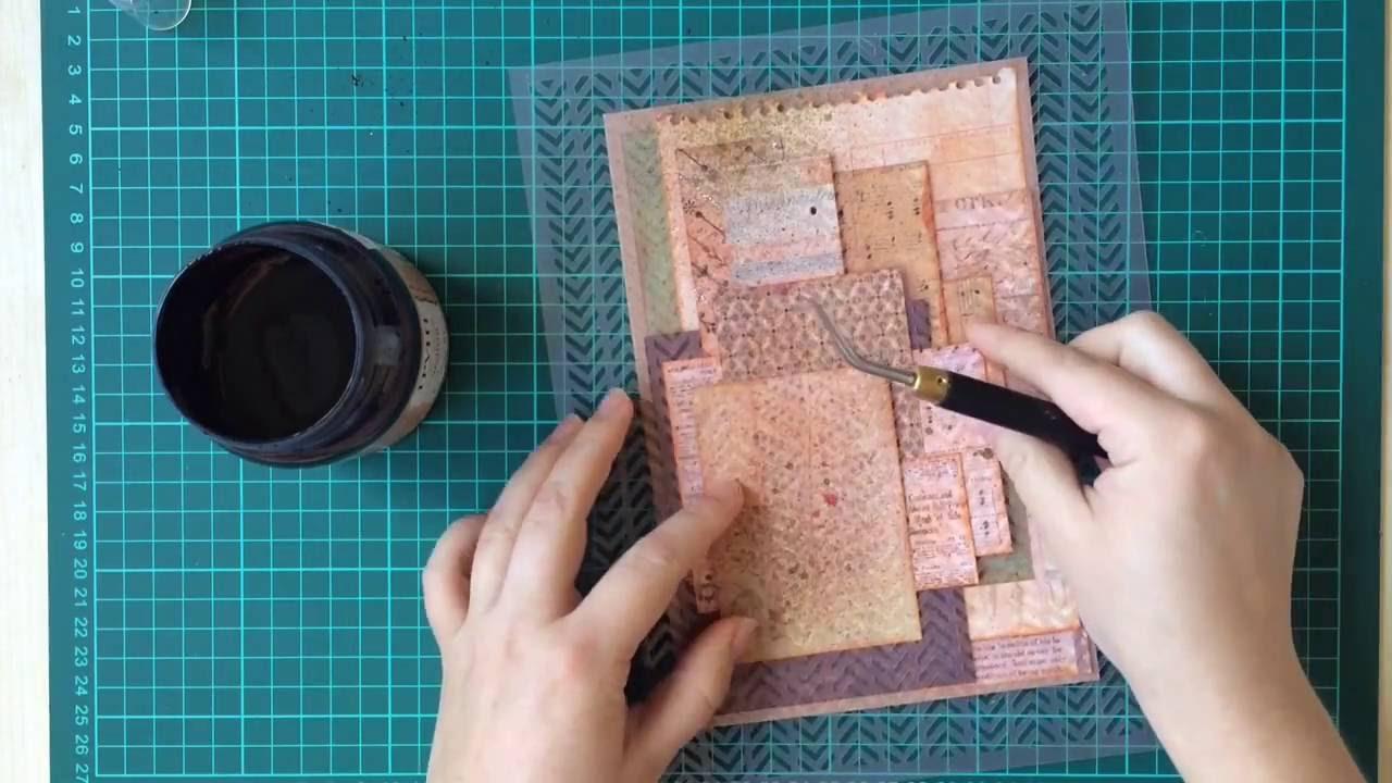 Видео-урок по созданию открыток