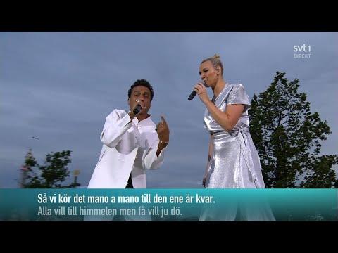 Timbuktu & Sanna Nielsen - Alla Vill Till Himmelen Men Ingen Vill Dö (Live Allsång På Skansen 2019)