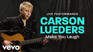 Carson Lueders Make You Laugh Live Performance Vevo.mp3