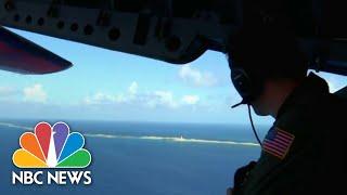 Coast Guard Patrolling For Cuban Refugees Fleeing To Florida