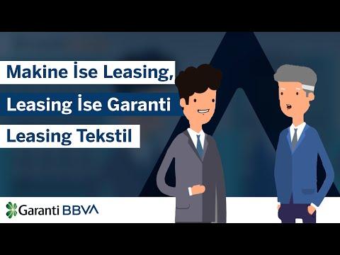 Makine ise leasing, leasing ise Garanti Leasing Tekstil