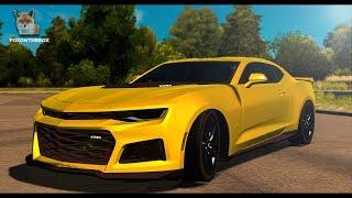 Chevrolet Camaro 2017 | Euro Truck Simulator 2 (ETS2 1.28 Mod)