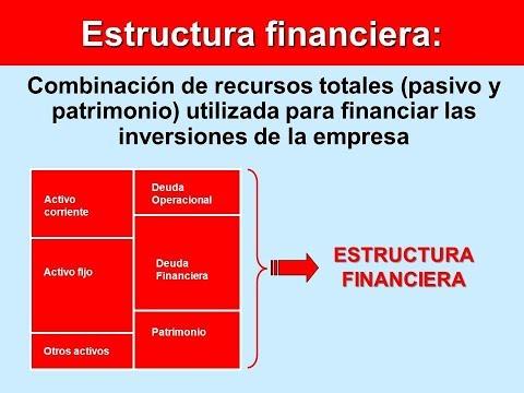 Estructura Financiera Que Es Explicación Sencilla