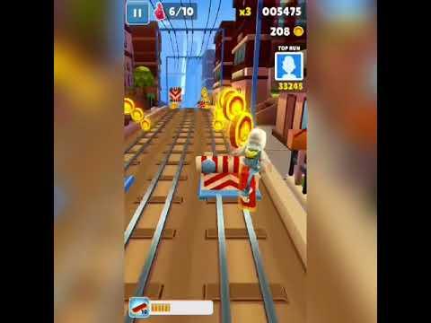 ¿Como llegar lejos en Subway Surf? Aquí te lo mostraré/GamePlay/Juegos Y más