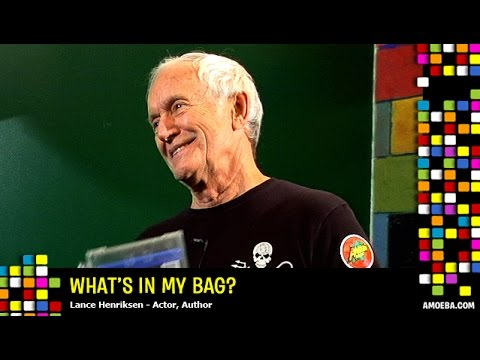 Lance Henriksen  What's In My Bag?