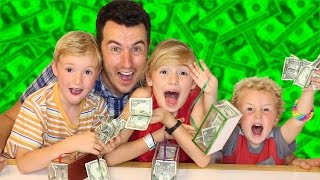 Free Money From Nothing! Magician Makes Money Appear from Nowhere lol - Magic Monday