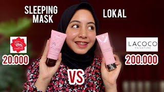 REVIEW SLEEPING MASK VIVA VS LACOCO!