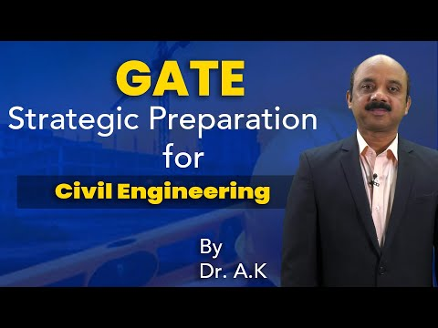 Strategic Preparation for  GATE Civil Engineering