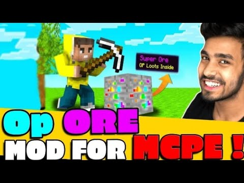 Download how to download super ore mod in minecraft | MINECRAFT, BUT ORES ARE SUPER | super ore mod.