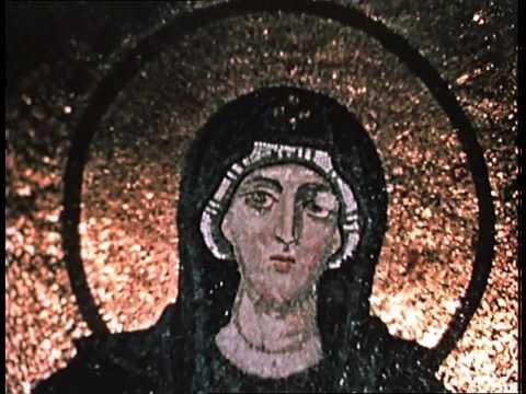 Hagia Sophia, Istanbul: Apse Mosaic of Virgin and Child, Version 2