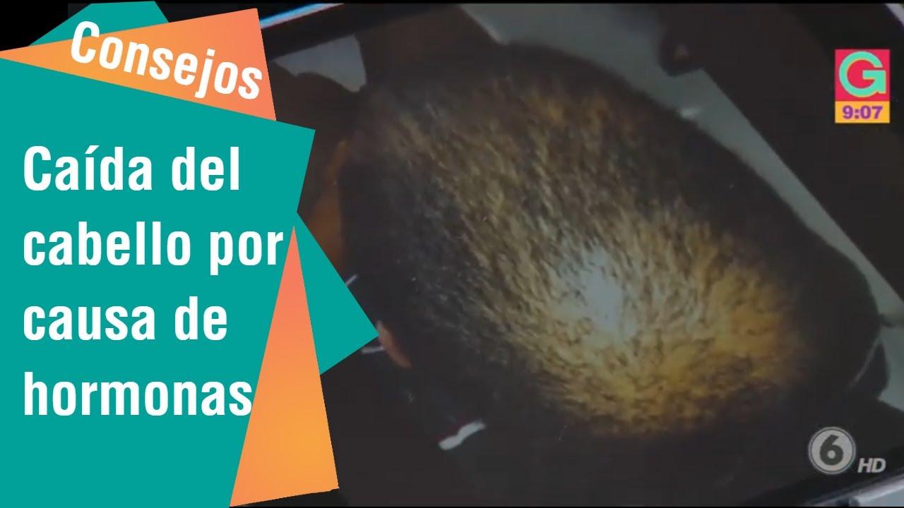 Caida del cabello en mujeres causas hormonales
