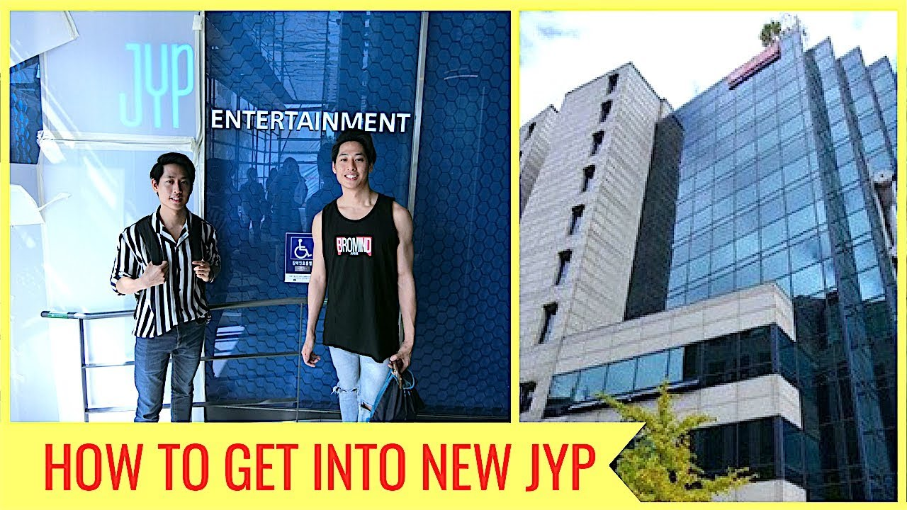 HOW TO GET TO NEW JYP ENTERTAINMENT BUILDING 2018 (TWICE ...
