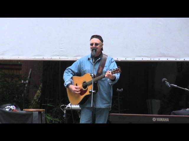 James Lee Stanley sings at Vicki Abelson's Women Who Write, Big Sur, 8/25/12