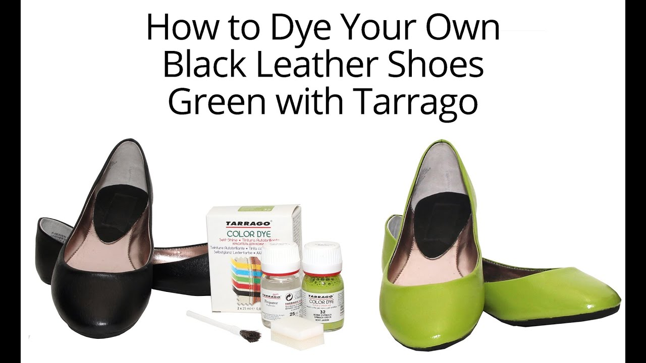 How to Dye Your Shoes