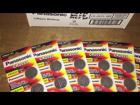 Panasonic battery CR2025 / 5BE 3V Lithium review